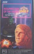 Resurrection of the Daleks VHS Australian cover