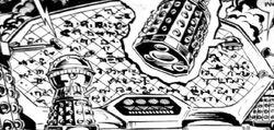 Dalek writing Emperor of the Daleks