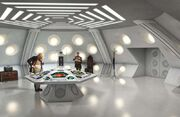 Gavin Rymill CG TARDIS interior DWM 532