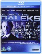 Dr. Who and the Daleks 2013 UK Blu-ray
