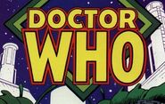 Marvel Comics Doctor Who logo