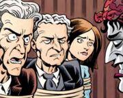 Clara, Doctor, & Houdini - all tied up