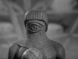 Monoid-Human statue