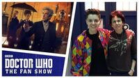 Steven Moffat & Rachel Talalay - The Aftershow - Doctor Who The Fan Show