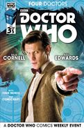 Four Doctors Issue 3 Cover 2