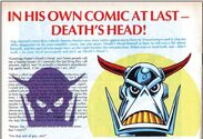 Death's Head Advertised in Transformers