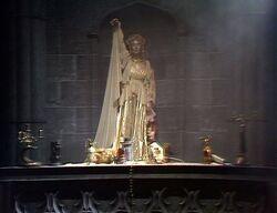 Altar at Fetch Priory