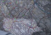 Map of Sheffield (AITUK)