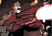 War Doctor fights