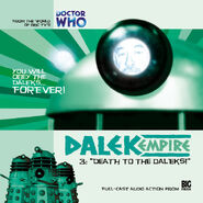 Death to the Daleks cover