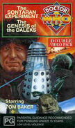 The Sontaran Experiment-The Genesis of the Daleks VHS Australian cover