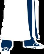 Logo long coat