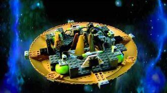 Character Building Doctor Who Dalek Spaceship