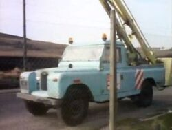 South Wales Electricity board Land Rover