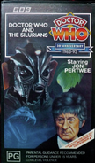 Doctor Who and the Silurians VHS Australian cover