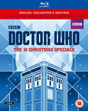 The 10 Christmas Specials 2015 Blu-ray UK