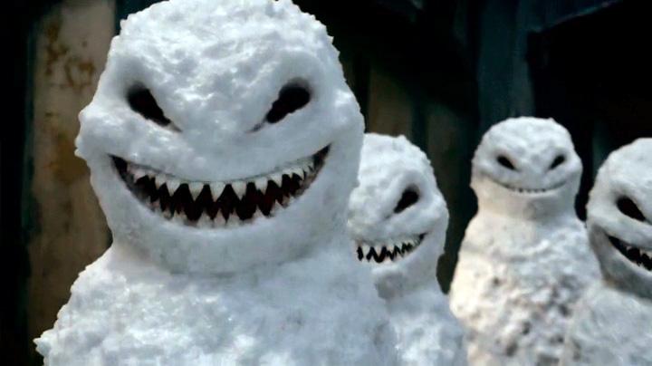 Attack of the Vampire Snowmen