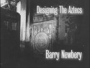 Designing The Aztecs Barry Newbery