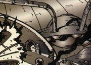 Dalek civil war saucers flashback