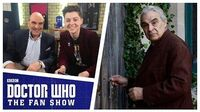 David Suchet and Mike Bartlett - The Aftershow - Doctor Who The Fan Show