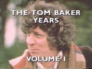 The Tom Baker Years Volume 1 title card
