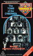 The Tomb of the Cybermen VHS Australian cover