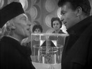 Doctor and Ian face off in TARDIS CaveofSkulls