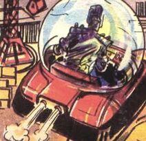 Cyberman hovercraft