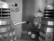 Daleks and neutron bomb