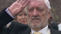Wilf salutes