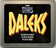 Daleks CD tin