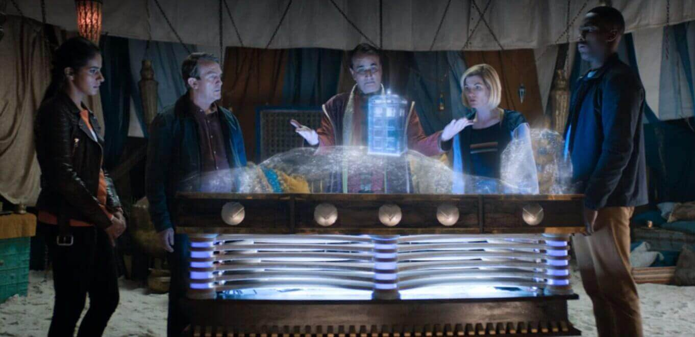 Image result for Ghost monument TARDIS