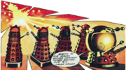 Daleks from Shadows of Humanity