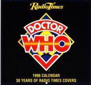 1996 Doctor Who Calendar