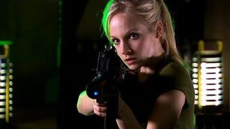 Jenny Dodges Lasers - The Doctor's Daughter - Doctor Who - BBC