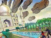 Taj Mahal invasion