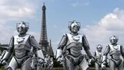 Cybermen in France
