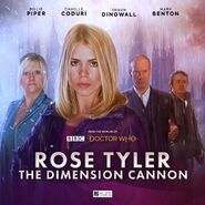 Rose Tyler The Dimension Cannon (audio anthology)