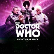 BBCstore Frontier in Space cover