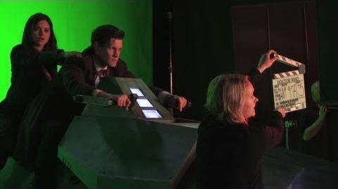 Behind the Scenes of The Rings Of Akhaten - Doctor Who - Episode 2 Series 7 2013 - BBC One