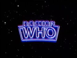 Doctor Who logo 6