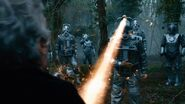 The Cybermen attack the Doctor (The Doctor Falls)