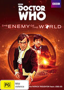 The Enemy of the World Australian cover