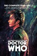 The Tenth Doctor Year One cover