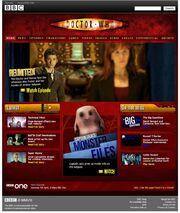 Series 4 Website Home Page on 7 April 2008