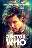 The Eleventh Doctor Year One cover