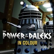 BBCstore Power of the Daleks coloured cover