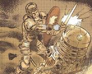 Dalek vs knight