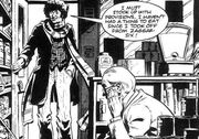 Doctor Who and the Iron Legion Fourth Doctor enters shop