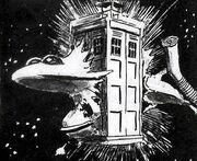 Size Control TARDIS breaks Ship